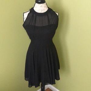 Dresses & Skirts - EUC black sheer cocktail dress